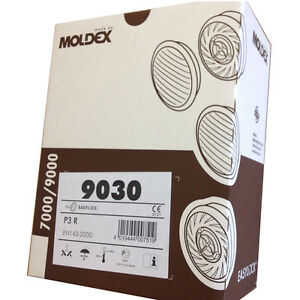 Moldex-9030-P3R-Particular-Filter-for-Series-7000-amp-9000-Masks-1-Box-6-pairs