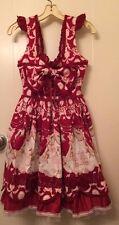 BTSSB Red Circus Print Tutu JSK dress sweet lolita