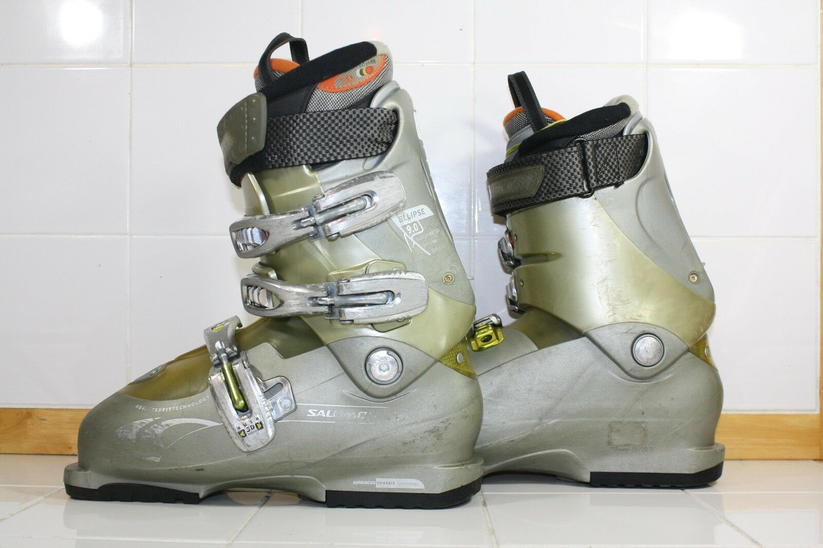 Salomon Ellipse Ski Boots 25.0 Mondo - Lot 1240