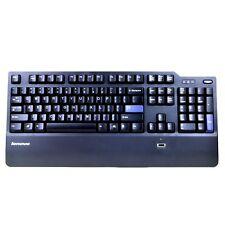 IBM Lenovo USB Fingerprint Security PC Keyboard 41A5248/KUF0452