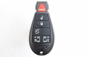 new 6 button fobik keyless entry remote key fob for 2010 chrysler town country ebay. Black Bedroom Furniture Sets. Home Design Ideas
