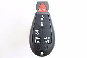 NEW 6 Button Fobik Keyless Entry Remote Key Fob For a 2012 Dodge Grand Caravan
