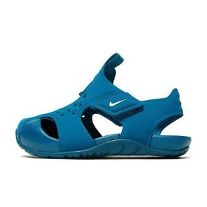 info for 2e4f1 aadef ... Nike-Sunray-Protect-2-TD-Sandales-bleu-vert-