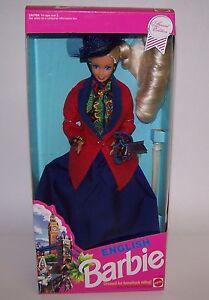 English Blonde Barbie Doll Dressed for Horseback Riding Mattel 1991