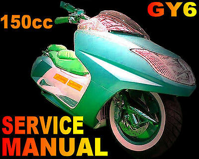 [DHAV_9290]  Scooter 150cc 150 GY6 Service Repair Shop Manual on CD Wildfire SUNL ZNEN  QMJ   eBay   Znen 150cc Gy6 Ignition Wiring Diagram      eBay