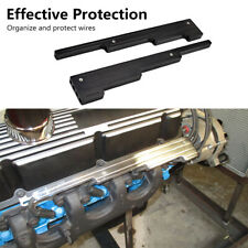 Black Spark Plug Wire Loom Holders Separator Kit Fits Chevy Sbc Bbc 302 350 454