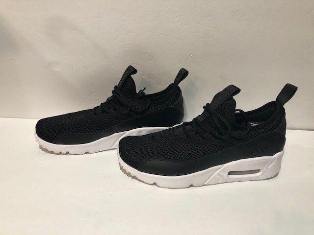 GS Nike Air Max 90 Ultra 2.0 könnyedén cipzáras cipők fekete / fekete / fehér AH5211 005