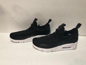Details about GS Nike Air Max 90 Ultra 2.0 Ease Casual Shoes BlackBlackWhite AH5211 005