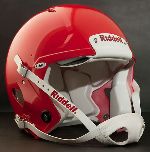 Color: GLOSS RED Riddell Revolution SPEED Classic Football Helmet