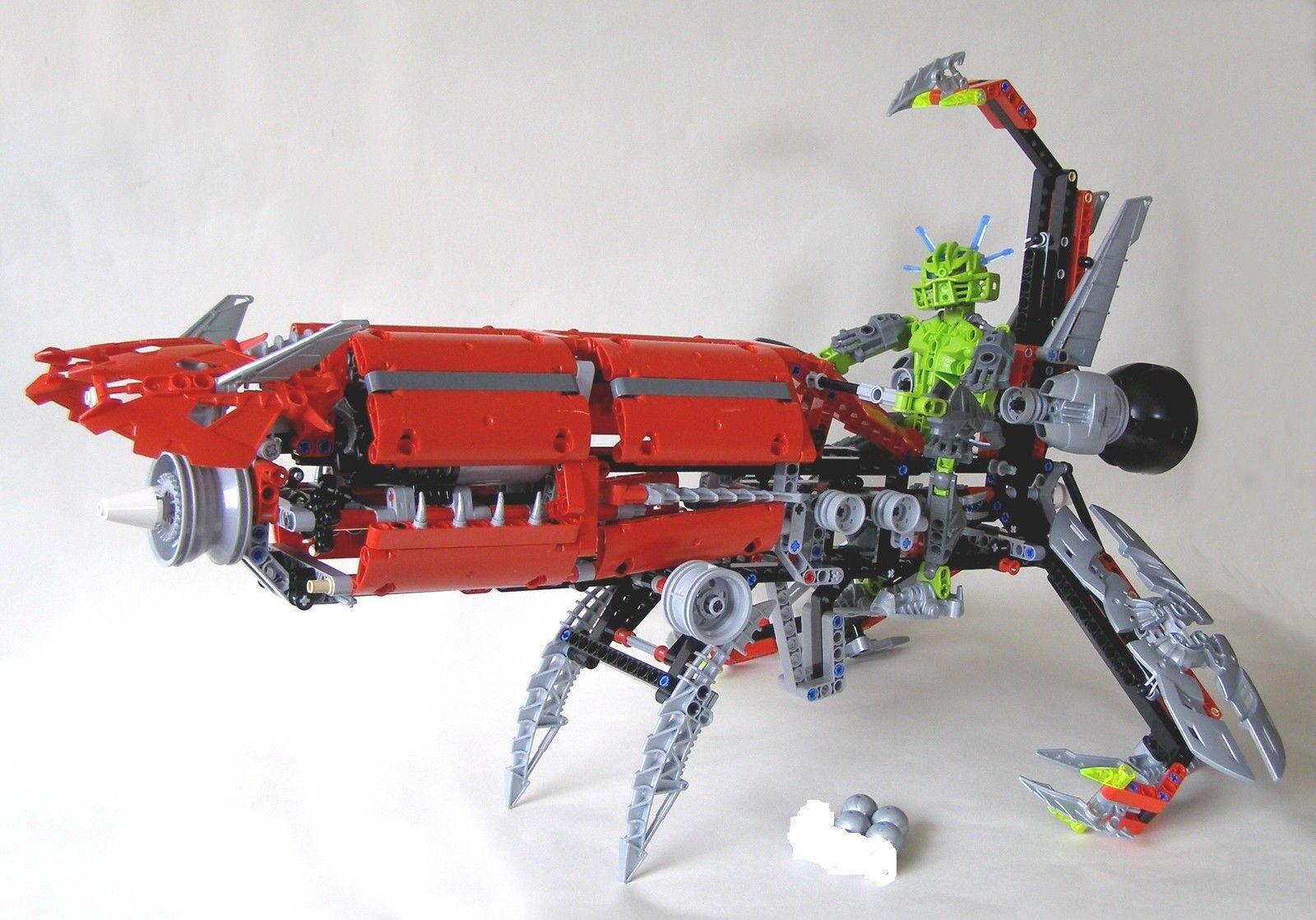 Lego 8943 Bionicle Bionicle Bionicle Karda Nui Axalara T9 robot complet à 100 %  de 2008 - NG2 12eb16