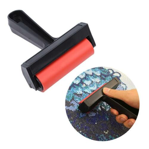DIY Red Paint Roller Diamond Painting Plastic Rollers Craft Accessories FI