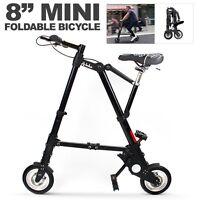 8 Mini Aluminum Alloy Travel Lightweight Portable Folding Bike Foldable Bicycle