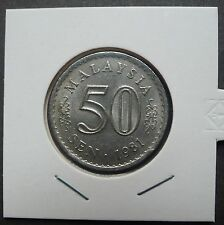 MALAYSIA 1981 PARLIMEN 50 CENTS COIN