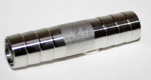 LEITUNGSVERBINDER CNS  für 4x 8mm  BIERLEITUNG  BIERSCHLAUCH ZAPFANLAGE TRESEN
