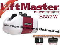 Liftmaster 8557W - Elite Series 3/4 HP AC Belt Drive Wi-FI Garage Door Opener