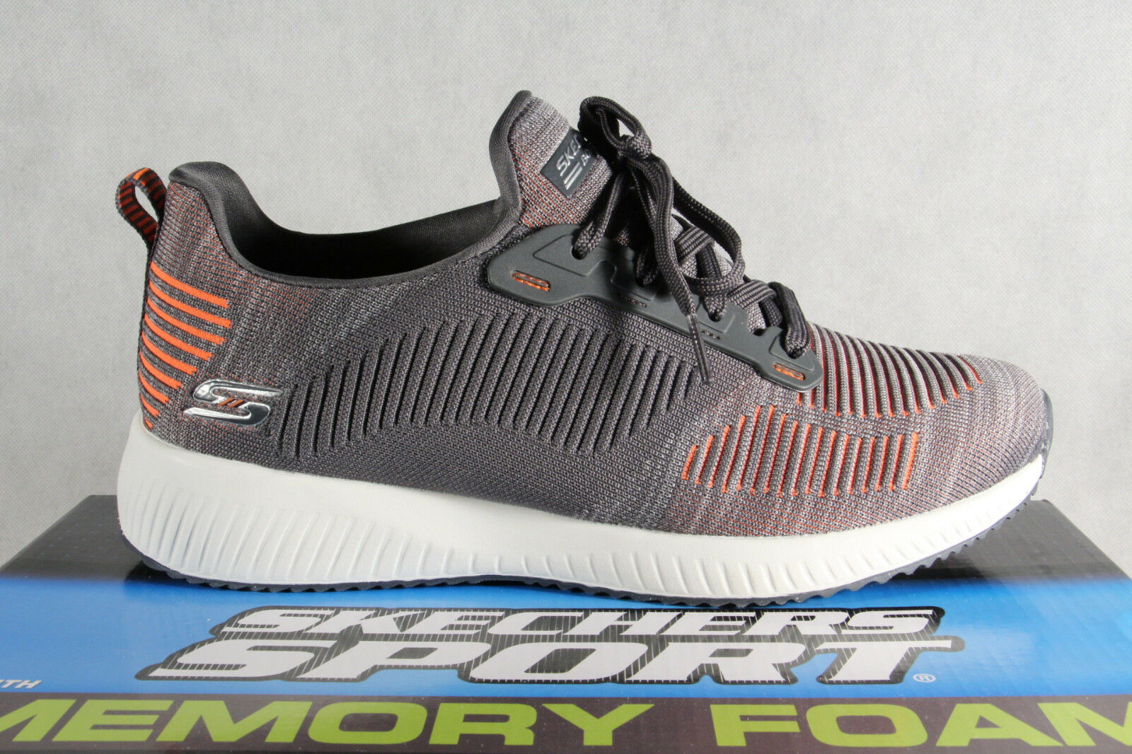 Skechers Lace up Slippers Trainers Sports Sports Sports shoes Grey New fed580