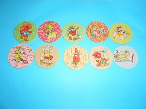 232 Pogs Pog Caps Milkcaps Flippo : Lot De 10 Collector Caps Bon GoûT