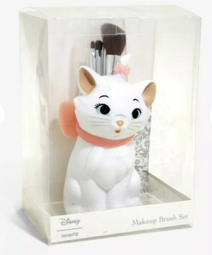 Loungefly Disney The Aristocats Marie Makeup Brush Set 5 Pieces In Marie Holder
