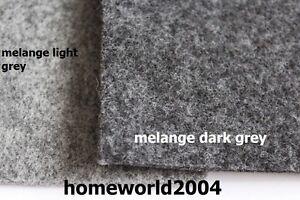 Feutre Tissu 4 mm d/'épaisseur 100 cm de large vendu par mètre melange gris clair