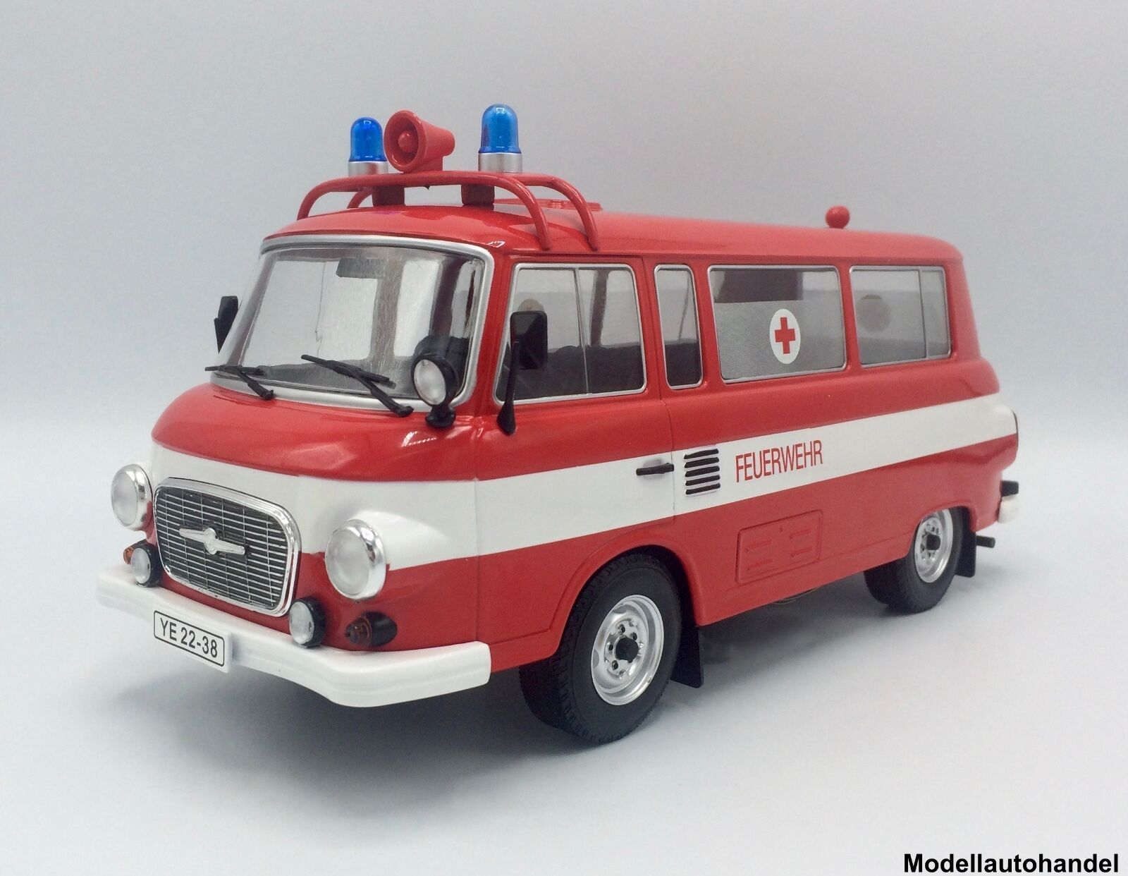 Barkas B 1000 Feuerwehr   Ambulance 1965 - 1 18 MCG     NEW