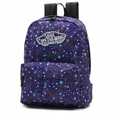 Vans Off The Wall Women's Realm School Book Bag Backpack - Cosmic Galaxy