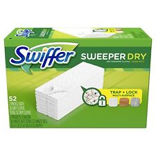 Swiffer Sweeper Dry Pad Refills - Fragrance Free, 52 Count