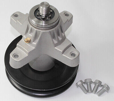 SPINDLE ASSEMBLY WITH PULLEY for MTD 918-04125C// 918-04125B