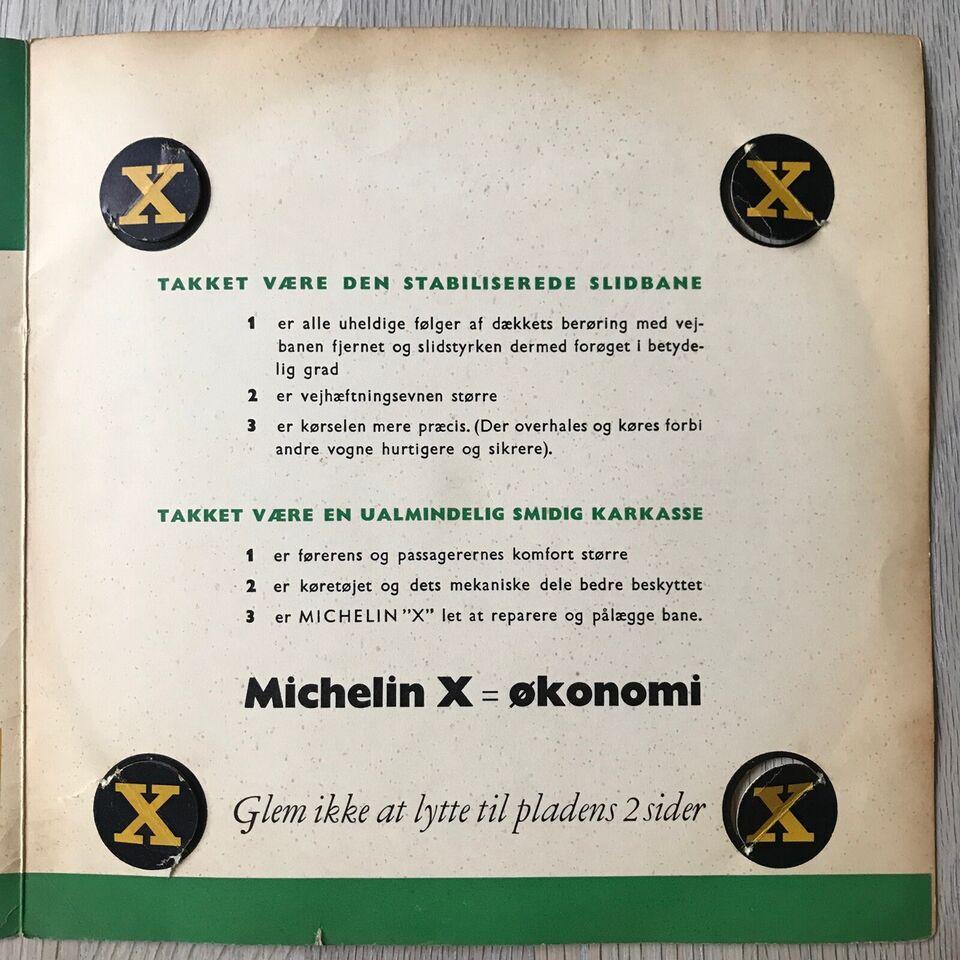 """Single, Michelin Promo 7"""" flexi, Michelin """"X"""""""