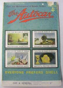 AUTOCAR-2-Nov-1934-Original-Motoring-Car-Magazine-Morris-Eight-MG-Midget-P-type