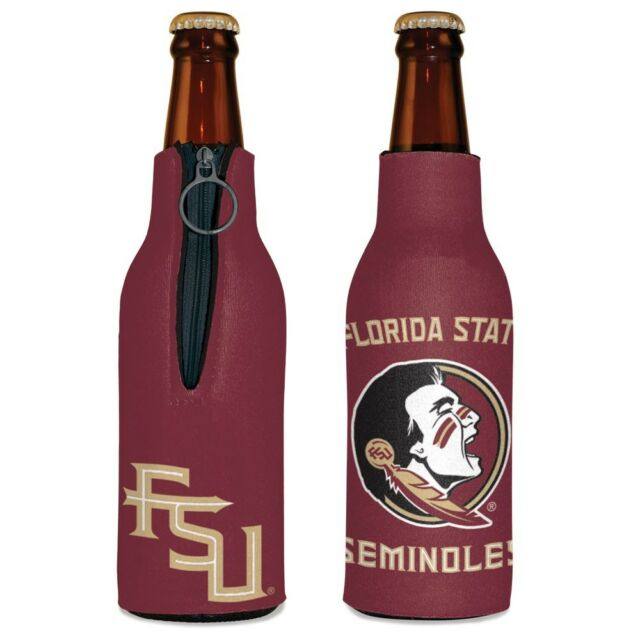 NCAA Florida State Seminoles Bottle Drink Coozie