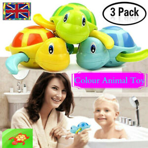 3-x-Wind-up-Swimming-Turtle-Animal-Toys-Child-Baby-Kid-Bath-Time-Clockwork-Float