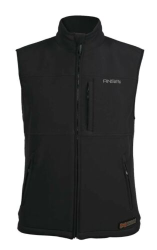 Mens Ansai Mobile Warming Battery Heated Electric Classic Vest Breathable NEW