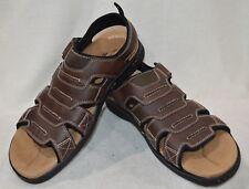 27587791cd0e Dockers Men s Shorewood Brown Memory Foam Fisherman Sandals-Sz 9 10 11