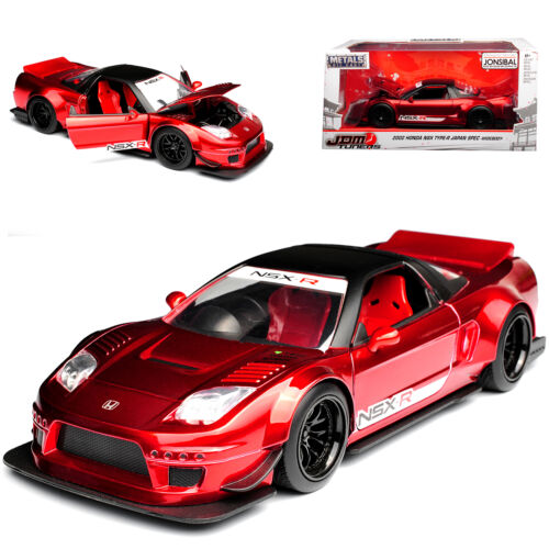 Honda NSX Type-R Japan Spec Widebody Rot Metallic 2002 1//24 Jada Modell Auto mit