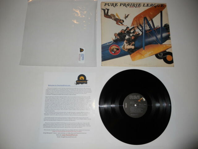 Pure Prairie League Just Fly 1978 RCA Analog EXC 1st Press ULTRASONIC CLEAN