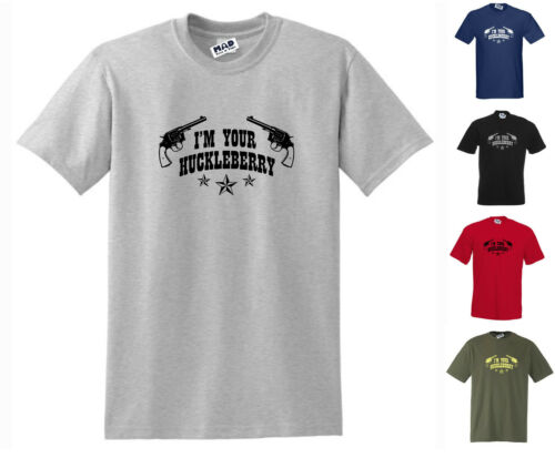 Std Cut Doc Holiday // Tombstone T-Shirt I/'M YOUR HUCKLEBERRY Small to 5XL