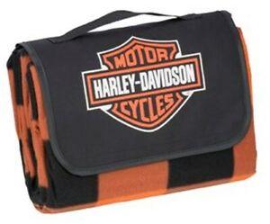 "Harley-Davidson Picknickdecke ""Bar & Shield"" Folding Blanket HDX-98523"