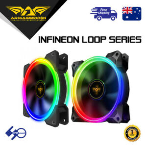 RGB-Case-Cooler-Fan-Armaggeddon-Infineon-Loop-Must-Use-Armaggeddon-Controller