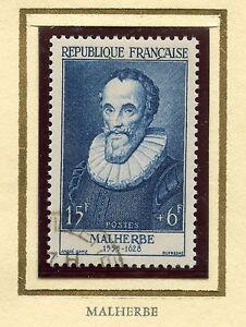 STAMP-TIMBRE-DE-FRANCE-OBLITERE-N-1028-CELEBRITE-FRANCOIS-DE-MALHERBE-POETE