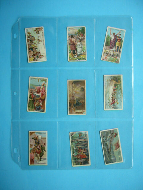 SET 50 1910'S 1920'S IMPERIAL TOBACCO WILL'S CIGARETTES HISTORIC EVENTS CARDS VG