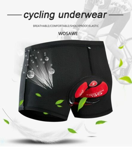 Cycling Underwear Gel Pad Bicycle Shorts Riding Bike Underwear Cycling Shorts