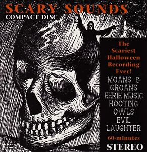 Details About HALLOWEEN SCARY SOUNDS (CD)