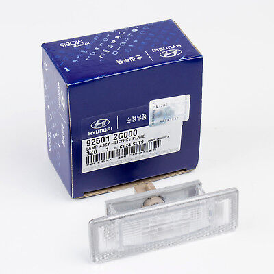 License Plate Lamp Assembly 92501-2G000 Kia Genuine