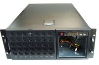 "Supermicro SC745 19"" Inch 4U Rack Server Chassis Case 4HE Case black/black"