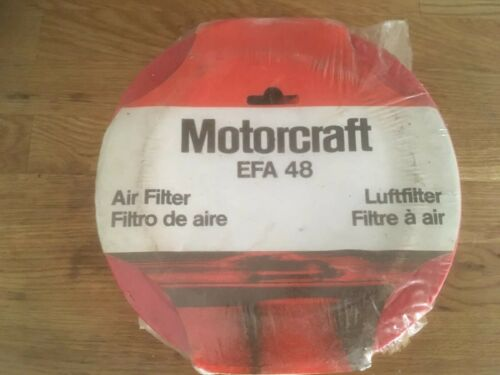Nos genuine Motorcraft EFA 48 air filter Ford MK1 /& MK2 Escort Capri MK3 Cortina