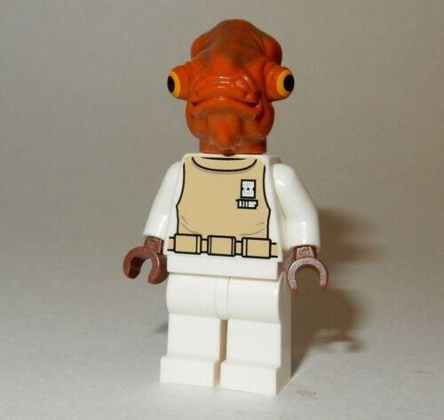 **NEW** Authentic LEGO 7754 Star Wars Minifigure ADMIRAL ACKBAR