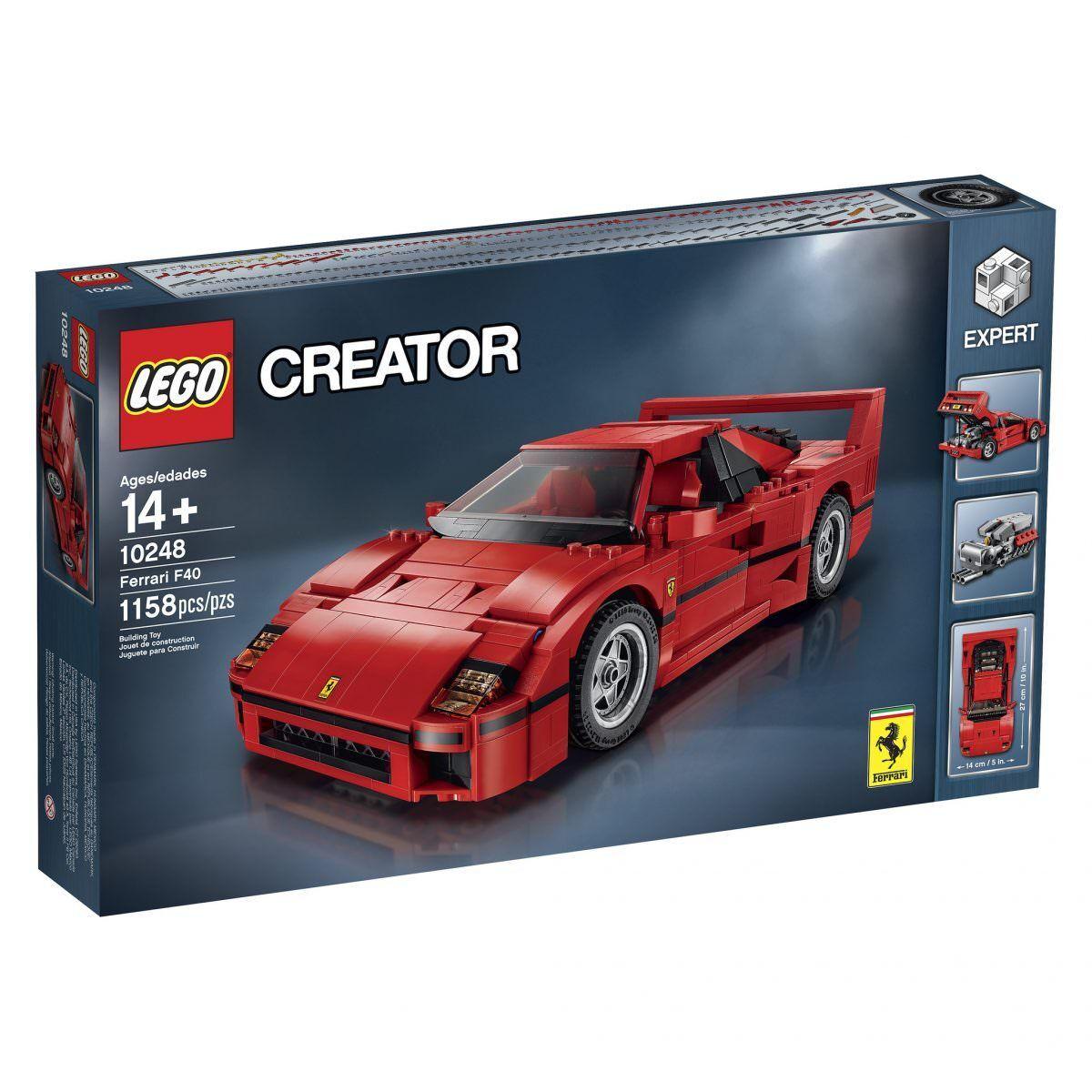 LEGO Ferrari F40 10248 - Factory sealed sealed sealed f550ff