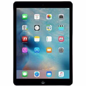 Wi-Fi 32GB Apple iPad Air 1st Gen 9.7in Space Gray