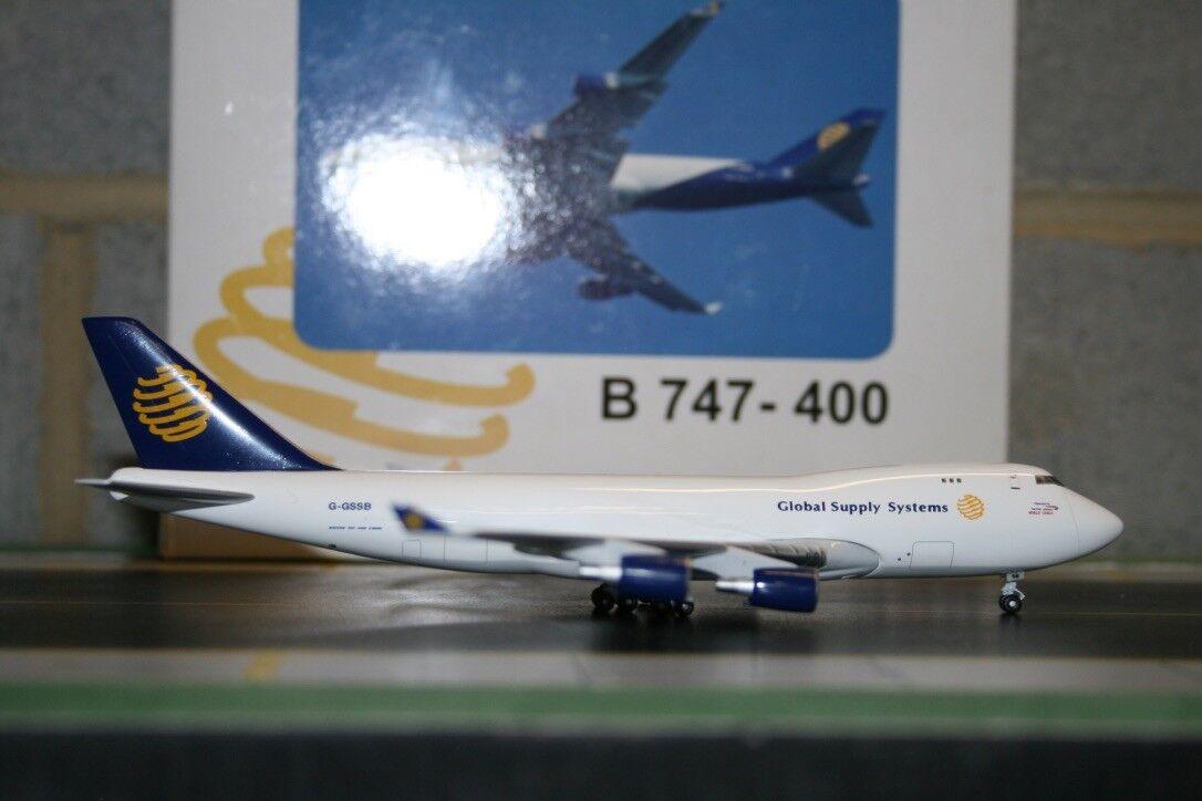 BigBird Big Bird 1 400 Global Supply Boeing 747-400F G-GSSB (BB4-2003-52)