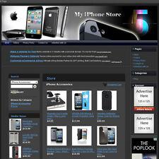 IPHONE STORE: Complete Turnkey Website + FREE Amazon & Google Affiliate ID Setup